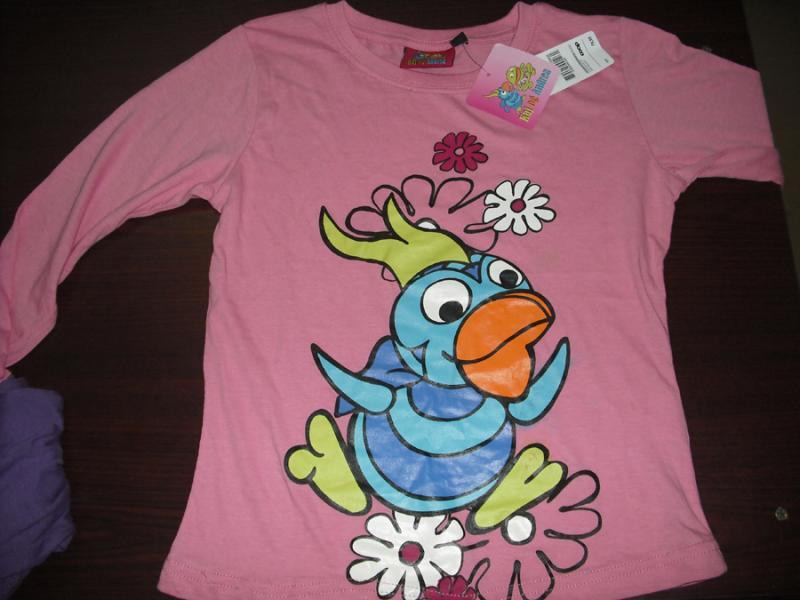 Girls Full Sleev Priented T-Shirt