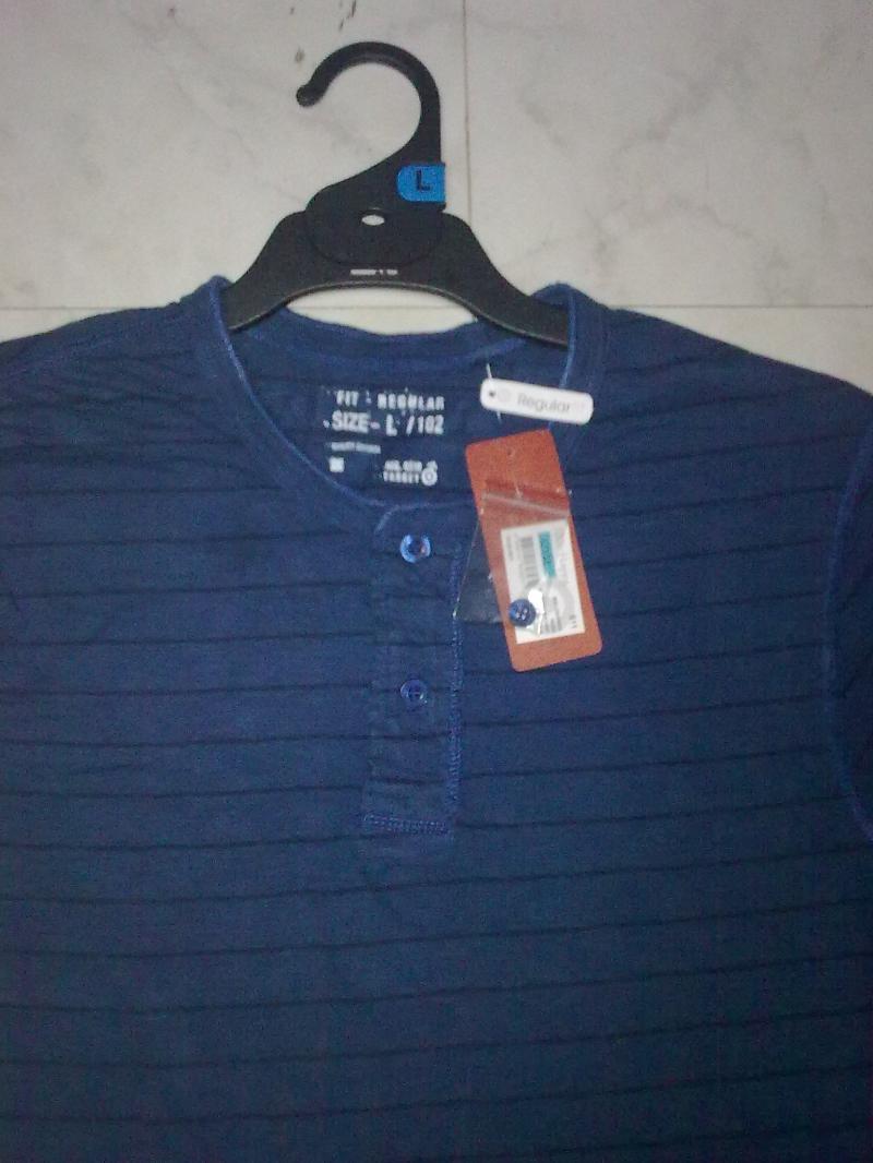 100% cotton Slub Y/D stripe T-