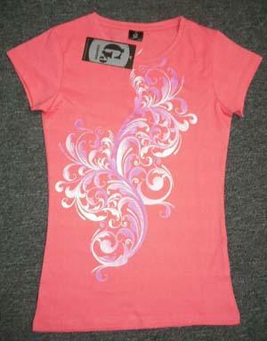 Ladies Round Neck SS T-shirt