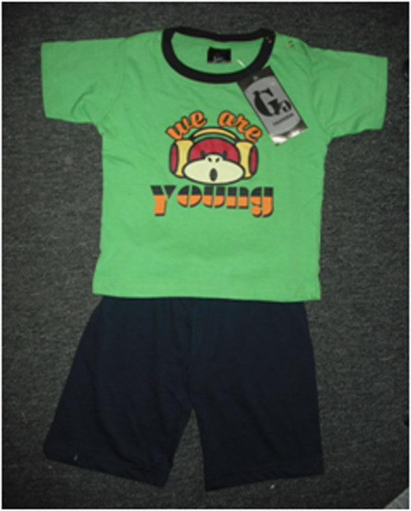 Baby T-Shirt + Bermuda Set