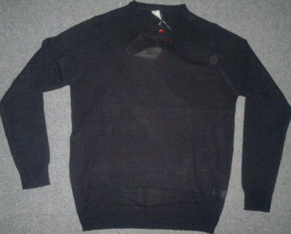 Men's round neck L/S sweater