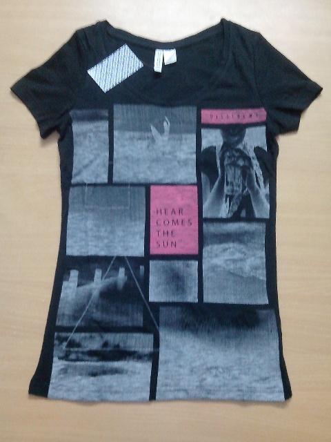 Ladies printed S/Slv T-Shirt