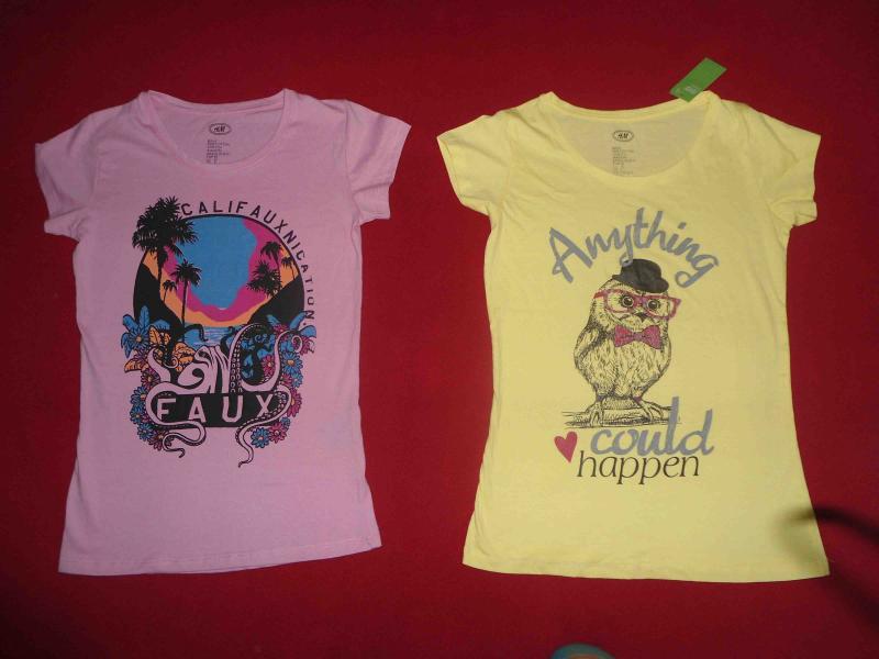 Ladies T Shirt -Printed